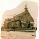 The first church of Our Lady of Perpetual Help Parish, 59th St. at 5th Ave -- 1897